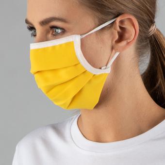 Wiederverwendbare Maske, gelb, ab 1 Stück