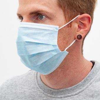 3-lagige Einwegbehelfsmaske