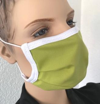 Wiederverwendbare Maske, hellgrün, ab 1 Stück